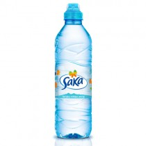 Saka Mineral Water Sports Cap 24x500ml.