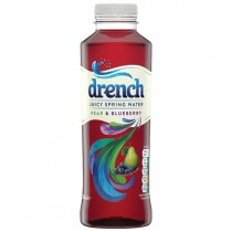 Drench Pear & Blueberry Juicy Water 12x500ml
