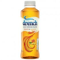 Drench Peach & Mango Juicy Water 12x500ml