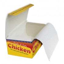 Fc0 Grease Resistant Chicken Box Liners 1x1440
