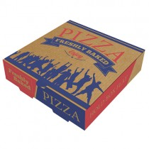 "9""  Brown Pizza Box 1x100 (appr)"
