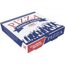 "14"" White Pizza Box 1x100 (appr)"