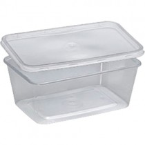 Microwavable Container & Lids (1000ml) 1x200