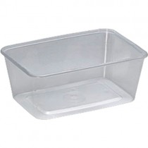 Microwavable Container & Lids (1000ml) 1x250