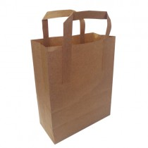 Take It Away Large  Brown Kraft Carrier Bag 250