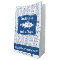 "Gb Fish&chip 12"" Grab Bags (12x19x17) 1x100"