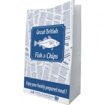 "Gb Fish&chip Grab Bag 10"" (10x15x16) X100"