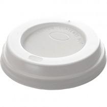 Domed Cafe G Lids 10oz 1000 White(p10dl)