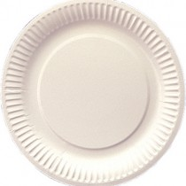"""7"""" (19cm)paper Plates 10x100"""