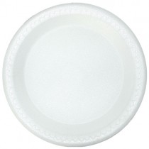 "9""  Polystyrene Plates 1x600"