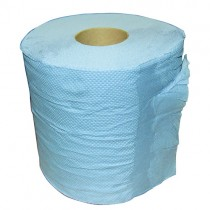 Centrefeed Blue Rolls 2ply 1x6