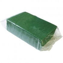 Heavy Duty Green Scouring Pad 1x10