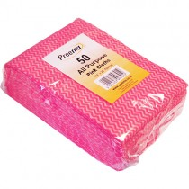 All Purpose Cloths (pink) 1x50