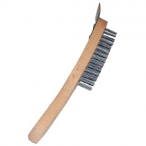 Wire Grill Brush (wooden Handle)1x1