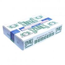 Sparks Halal 2oz Beefburger 48x56g (blue Tape)