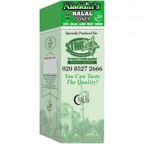 Aladdin Halal All Lamb Doner 9.07kg.(20lb)