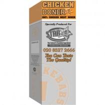 Chicken Doner (halal) 1x4.54kg (10lb)