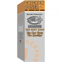 Chicken Doner (halal) 1x9.07kg.(20lb)