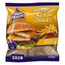 Hen House Battered Chicken Steak 24x85gr