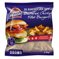 Hen House American Style Chic Burger 20x120gr