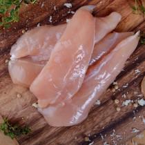 Frozen Raw Halal Inner Fillets Appx 7.5kg *block*
