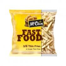 Mccain Fast Food Fries 3/8 10kg 4x2.5kg