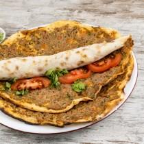 Authentic Turkish Pizza Halal (lahmacun) 1x12