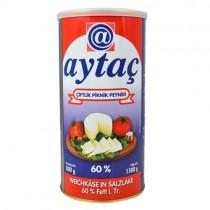 Aytac Fetta Cheese (60% Fat) 1x800g Tin