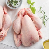 Fresh Halal Raw Whole Chicken 10x1.2kg