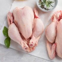 Fresh Halal Raw Whole Chicken 8x1.6kg