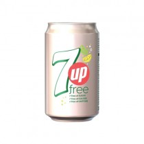 7up Free Gb Can 24x330ml