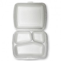 3 Compartment Meal Box 1x250