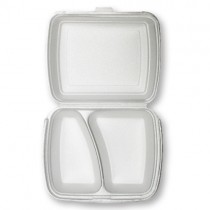 2 Compartment Meal Box 1x250