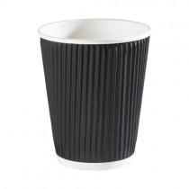 12oz Brown Kraft Ripple Cups 500 (0442brown)